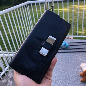 Chloe Leather Lily Continental Wallet